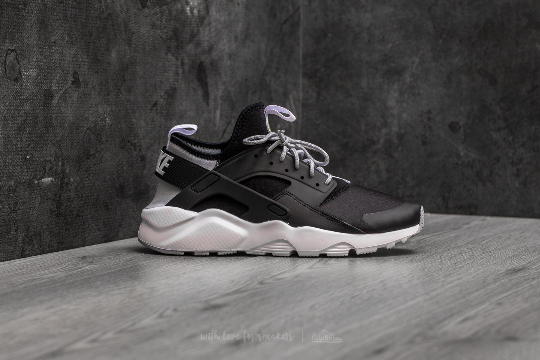 65ee68f1d3f Lyst - Nike Air Huarache Run Ultra Black  White-wolf Grey in Gray ...