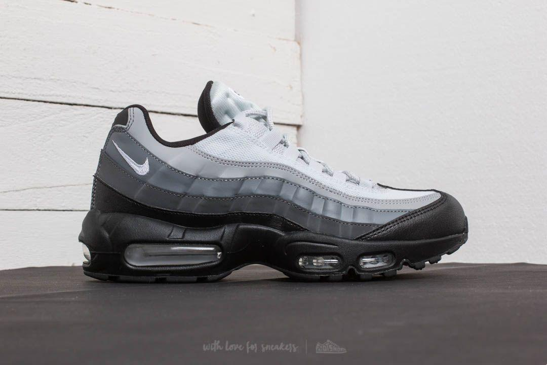 2946345c1dd0 Lyst - Nike Air Max 95 Essential Black  White-dark Grey in Gray for Men