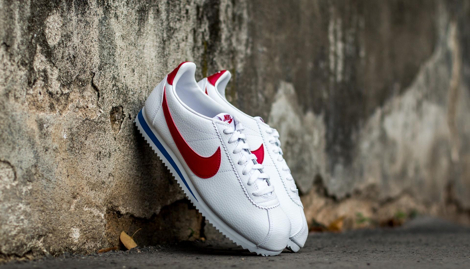 promo code adac6 9cb10 Nike - Classic Cortez Leather White  Varsity Red-varsity Royal - Lyst. View  fullscreen