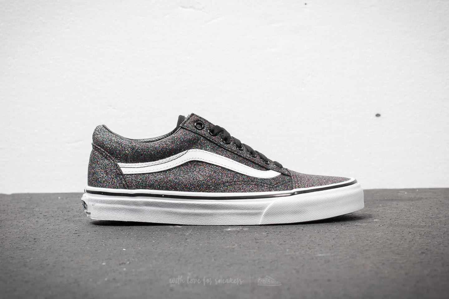 584efb4d7373 Vans Old Skool (glitter) Rainbow Black in Black for Men - Lyst