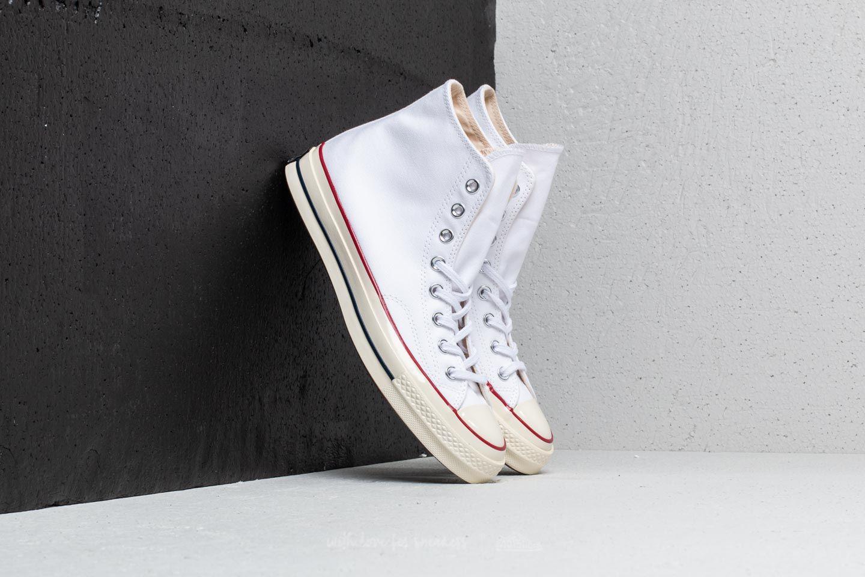e33eb61e640 Lyst - Converse Chuck Taylor All Star 70 Hi White  Garnet  Egret in ...