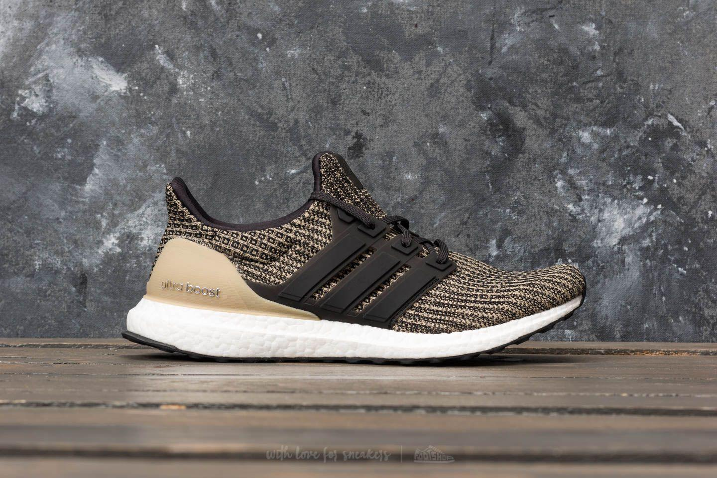 528e5944171 Lyst - Footshop Adidas Ultraboost Core Black  Core Black  Raw Gold ...