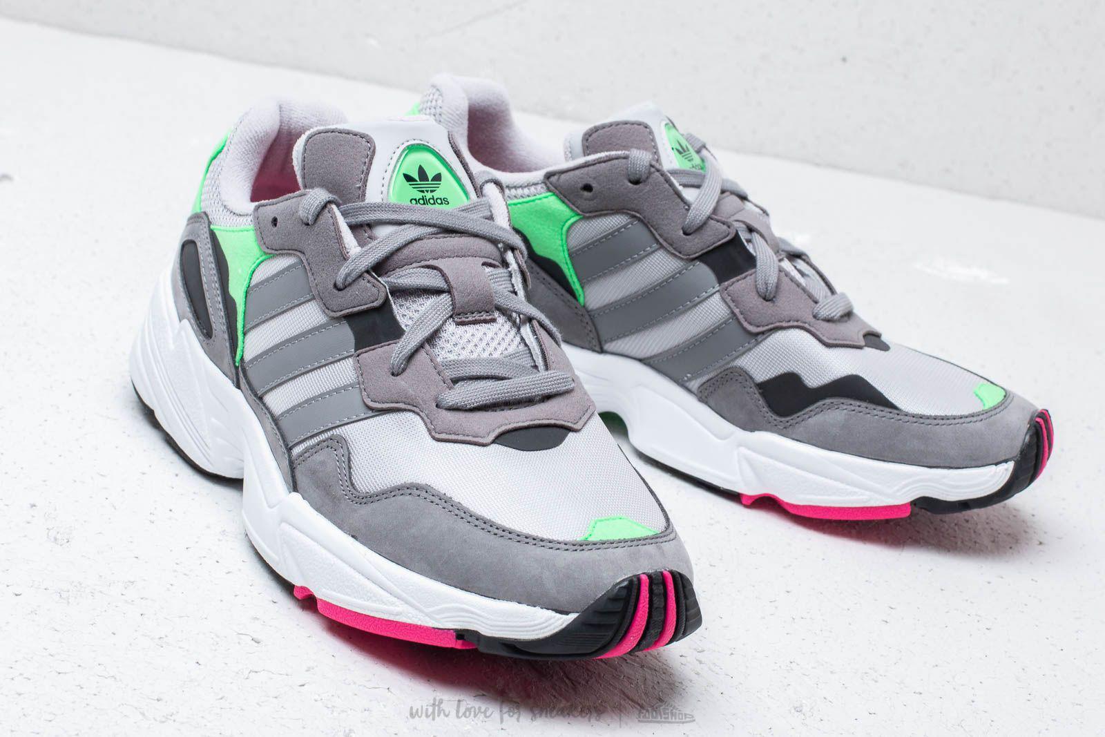 cafe5ccd39 Lyst - adidas Originals Adidas Yung-96 Grey Two  Grey Three  Shock ...
