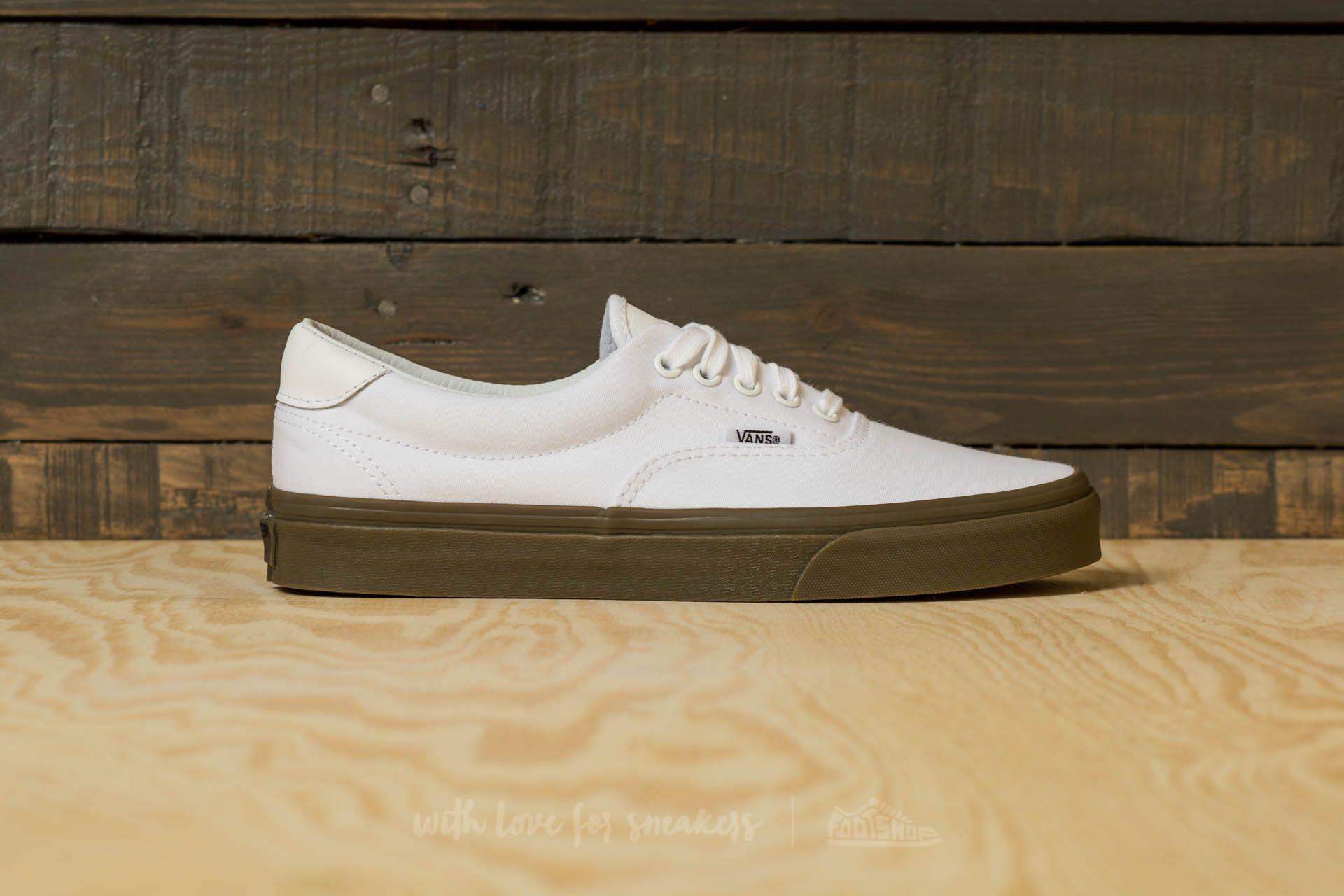 Lyst - Vans Era 59 (bleacher) True White  Gum in Green for Men dc0e1c303