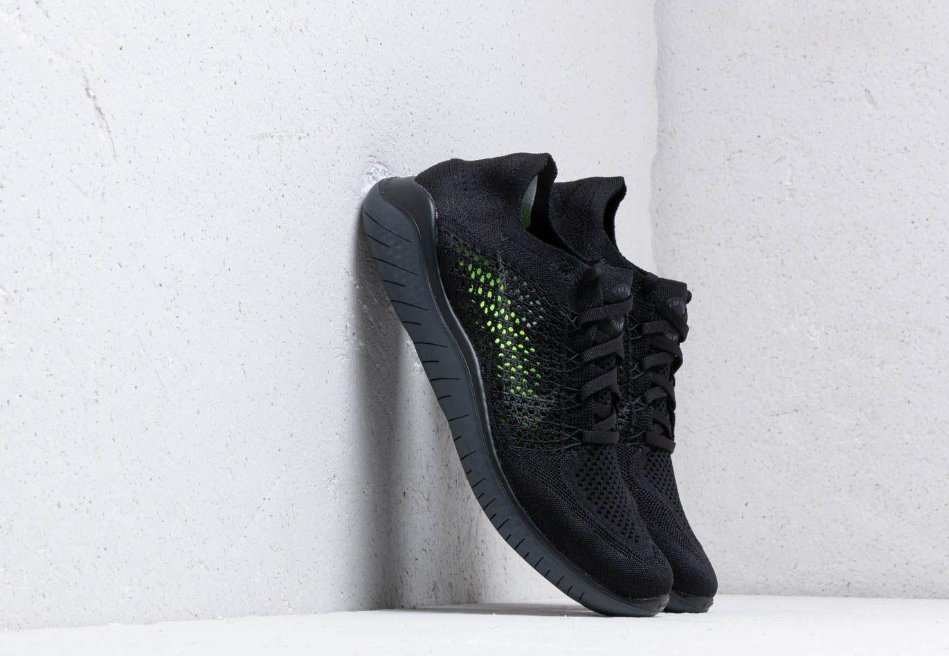 wholesale dealer de8d6 7eaec Nike. Men s Free Rn Flyknit 2018 Black  Anthracite