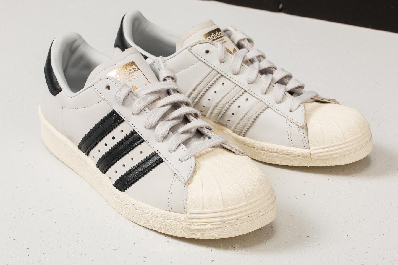 fec90c6c865ba Lyst - adidas Originals Adidas Superstar 80s W Ftw White  Core Black ...