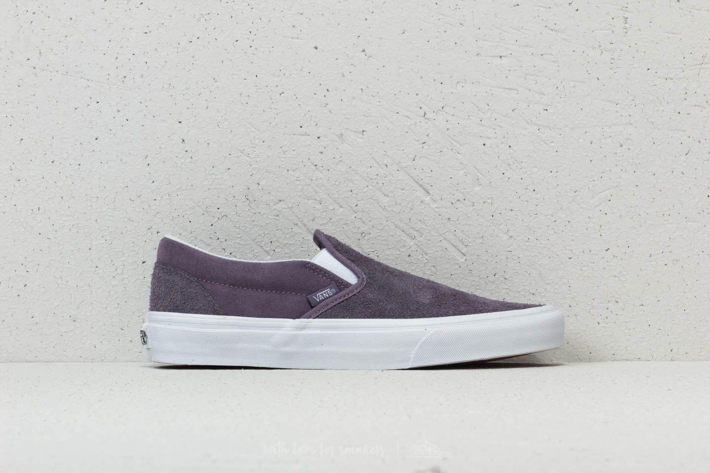 HAIRY SUEDE SLIP-ON - Sneaker low - purple Günstigen Preis Kaufen Rabatt Verkauf Echten Spielraum Online Amazon Um Zu Verkaufen Günstig Kaufen Manchester ZXw6fJWEc5