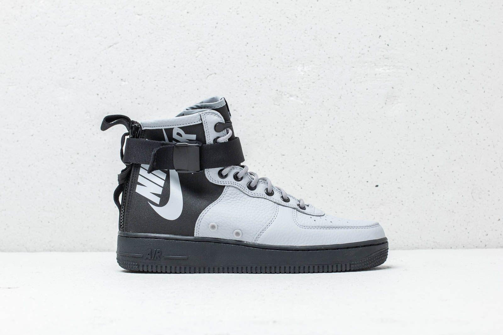 Lyst - Nike Sf Air Force 1 Mid Wolf Grey  Wolf Grey-black in Gray ... e6705ace0bf2