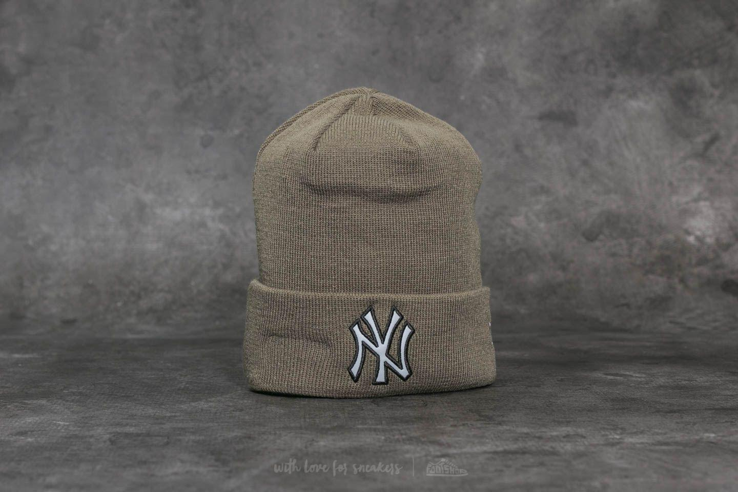 4d4ef02c1b1 Lyst - KTZ Mlb Night Ops Cuff New York Yankees Beanie Green in Green ...