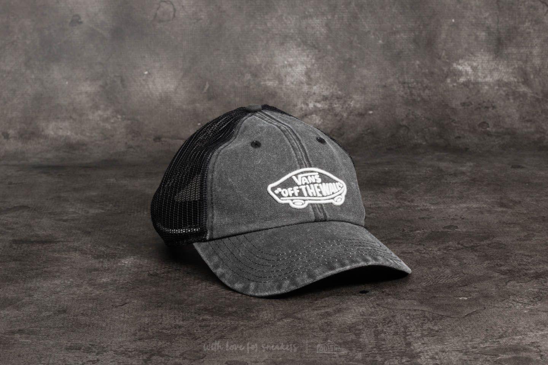 e5db36b723e Lyst - Vans Acer Trucker Hat Black in Black for Men