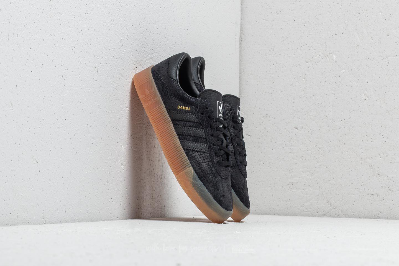 33f20c4926be71 Lyst - Footshop Adidas Sambarose W Core Black  Core Black  Gum 3 in ...