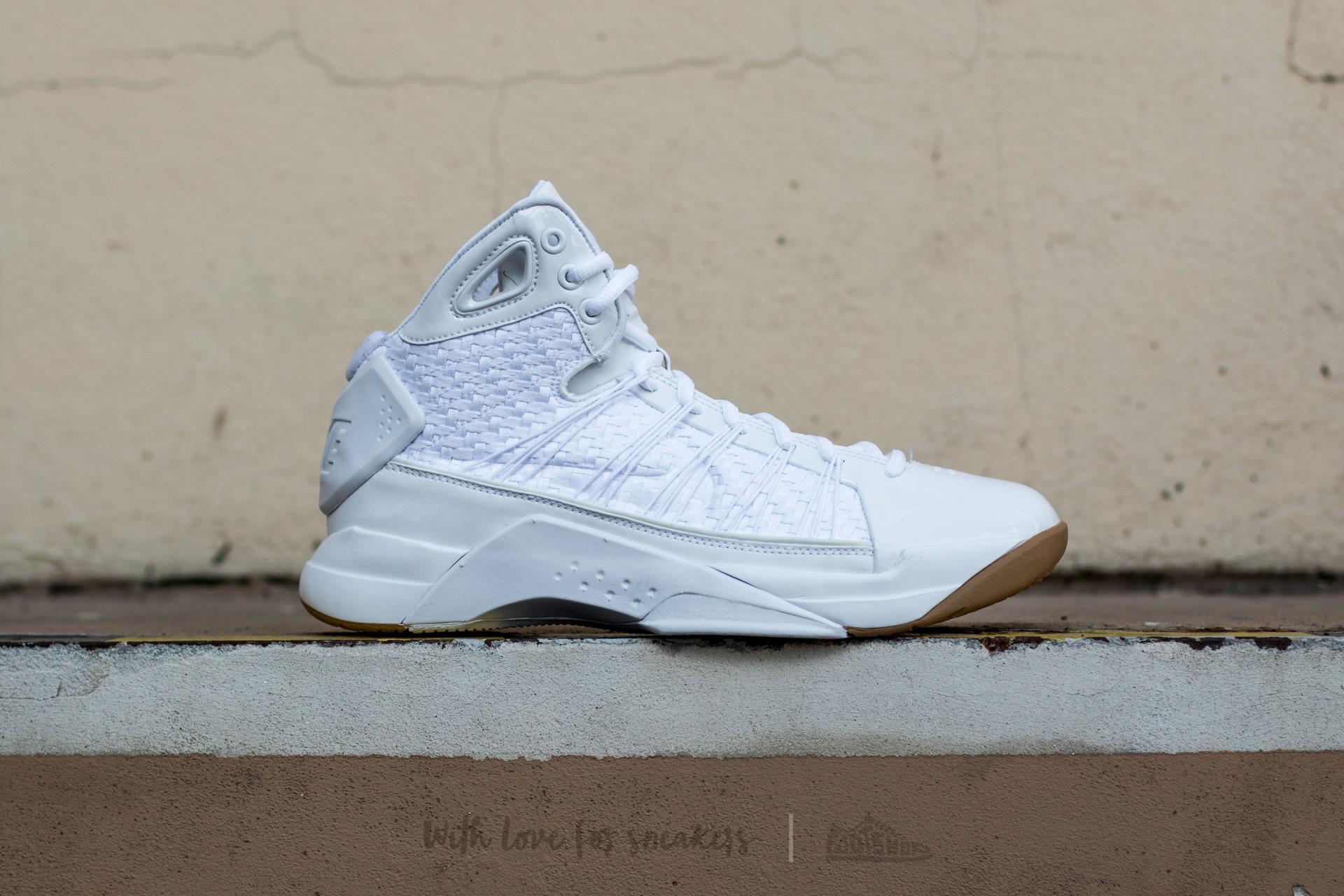 602f077c4f14 Lyst - Nike Hyperdunk Lux White  White-gum Light Brown in White for Men