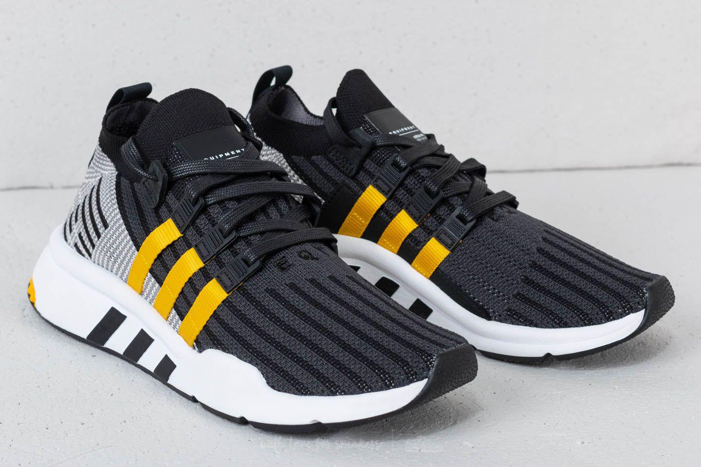 41bc9d892d0a ... discount code for adidas originals adidas eqt support mid adv primeknit  core black eqt yellow ftw