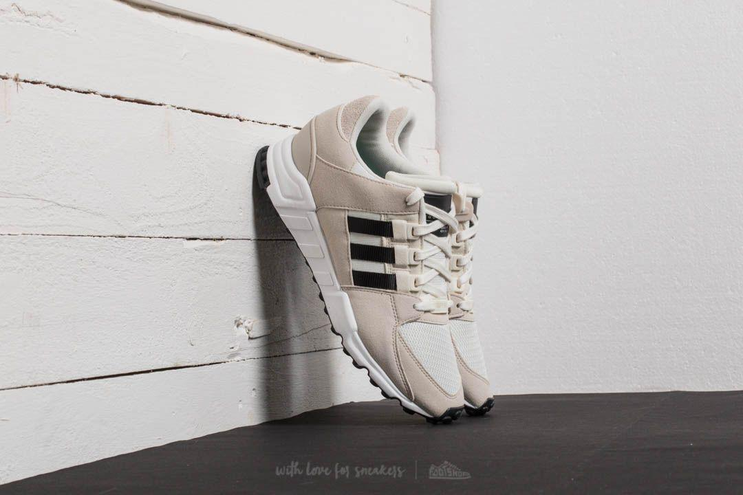 EQT SUPPORT RF - Sneaker low - offwhite/core black/clear brown