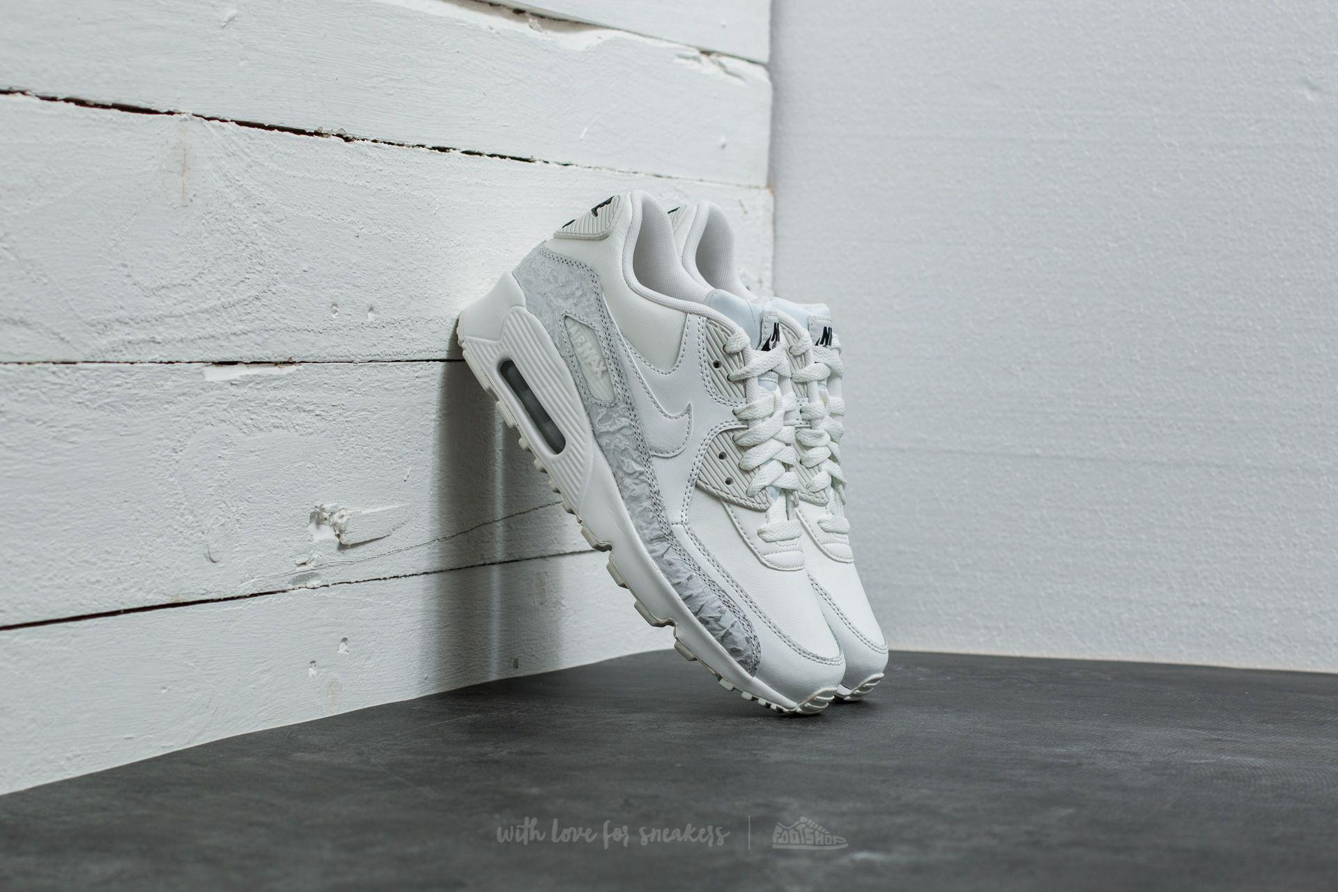 Lyst - Nike Air Max 90 Leather Se (gg) Summit White  Summit White in ... a3eb33b52