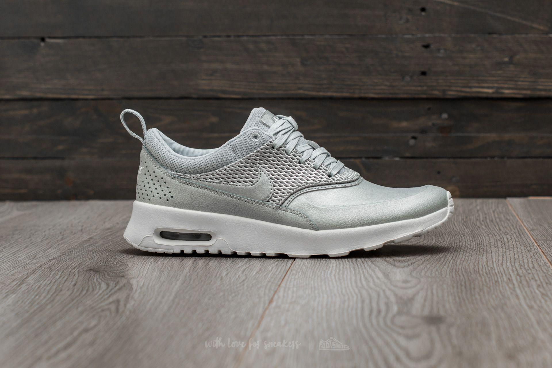 online store e18c6 3e6cc Nike Wmns Air Max Thea Premium Lea Metallic Platinum  Pure Platinum ...