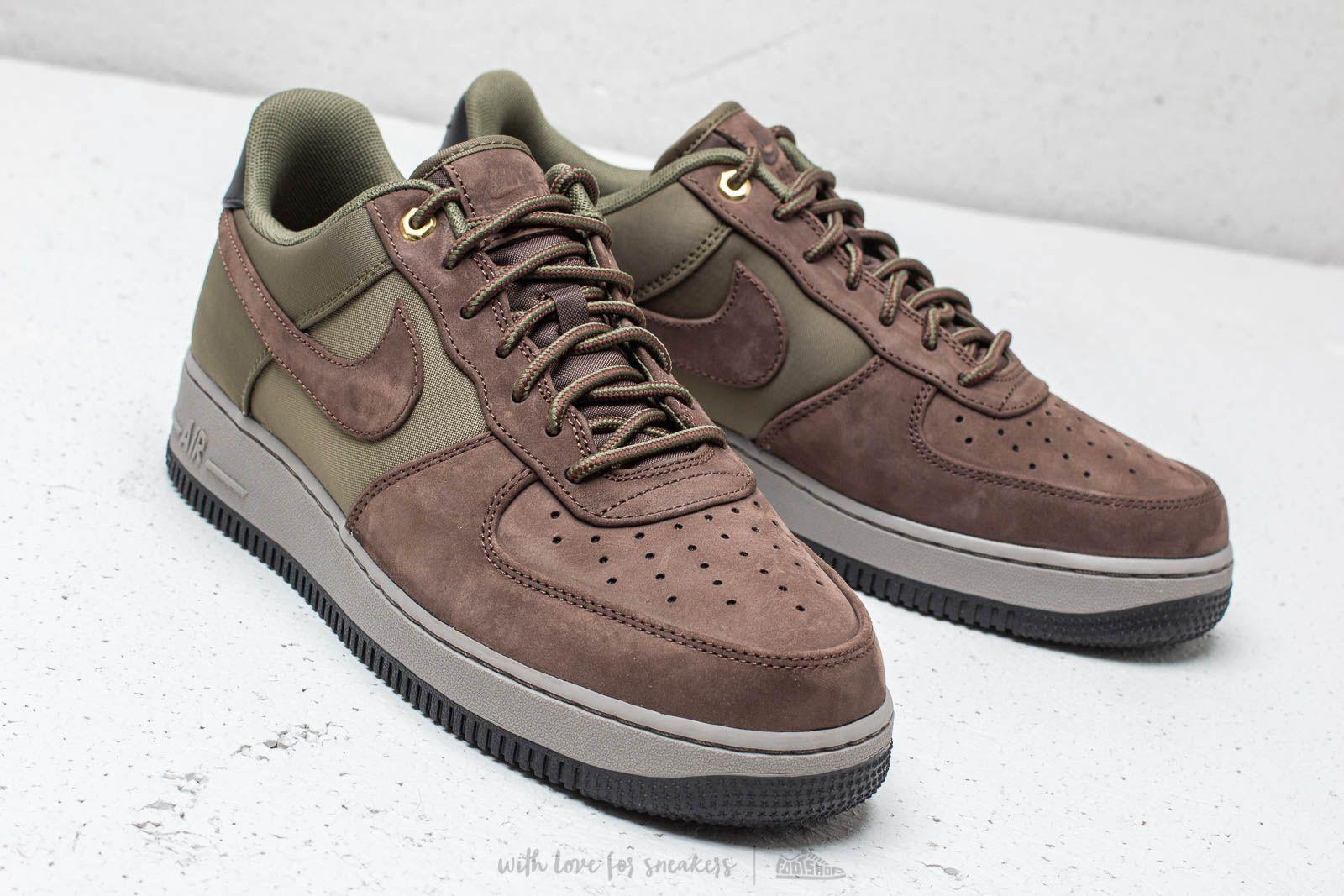 Lyst - Nike Air Force 1 ́07 Premier Baroque Brown  Army Olive in ... 27c73d427