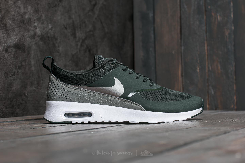 f50b035acff2 Lyst - Nike W Air Max Thea Outdoor Green  Metallic Pewter