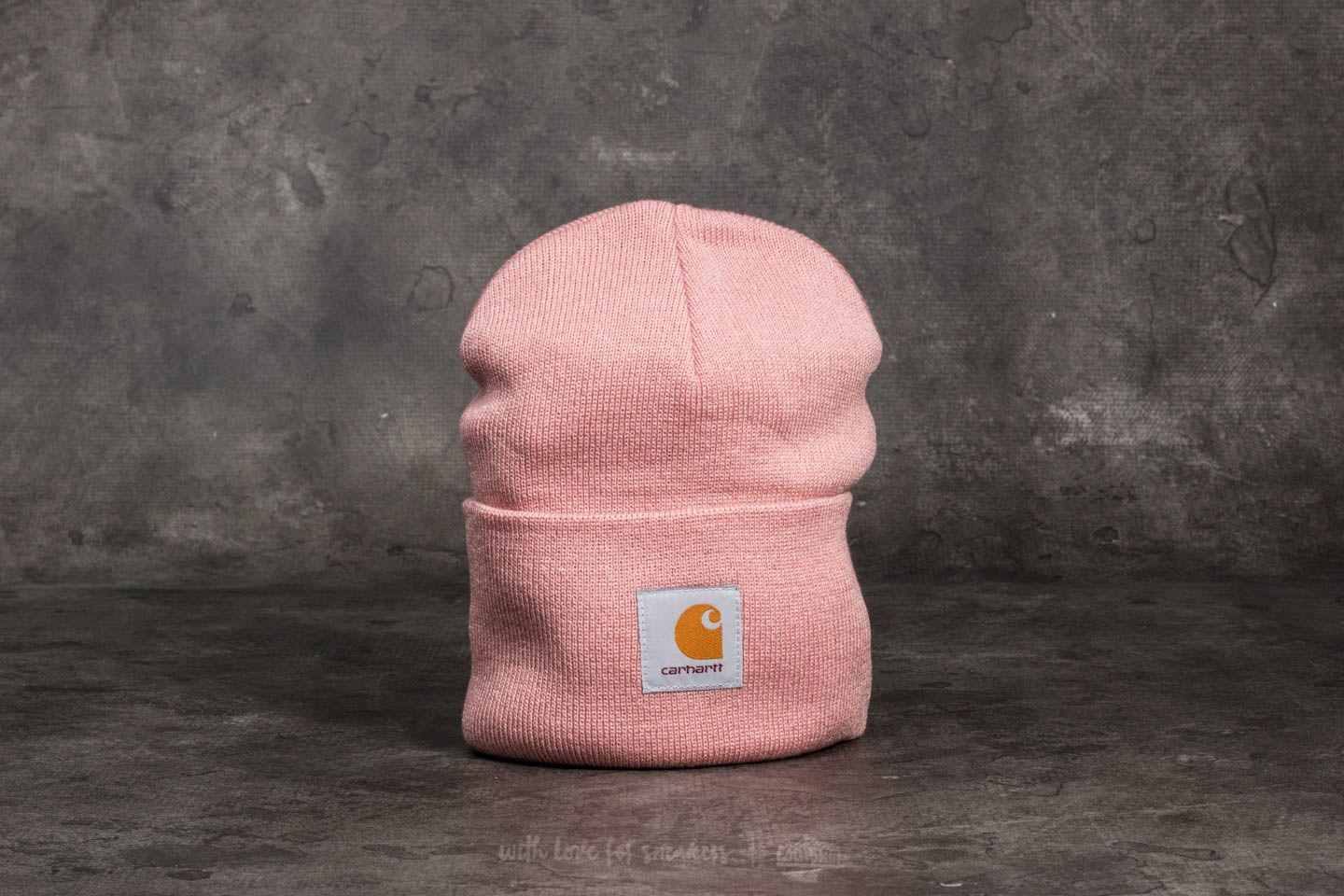 69b36dcf264d2 Carhartt WIP Acrylic Watch Hat Soft Rose in Pink - Lyst