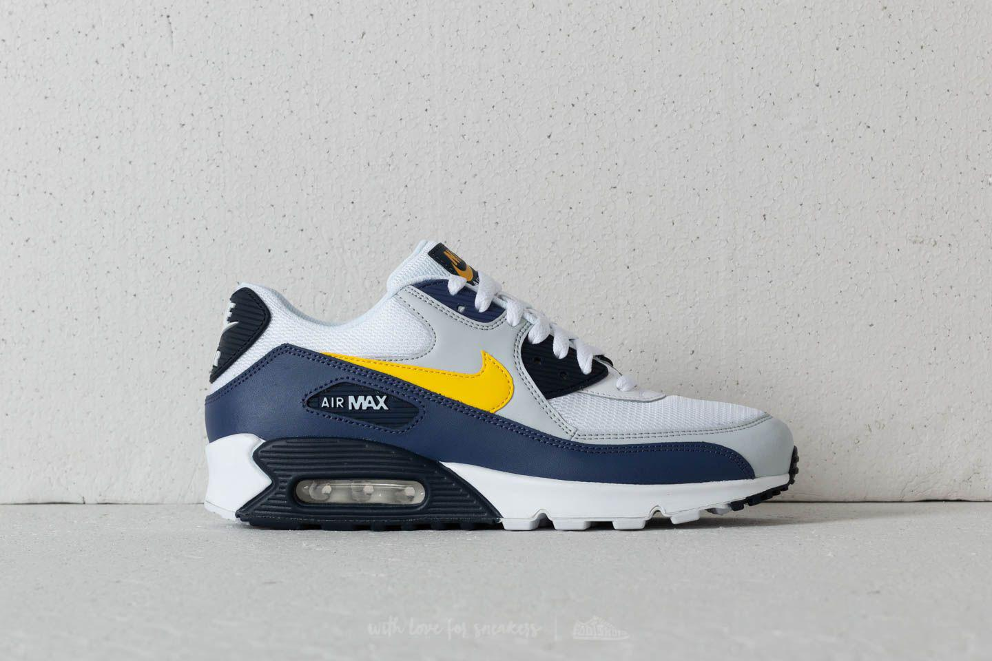 Lyst - Nike Air Max 90 Essential White  Tour Yellow-blue Recall in ... 4193f247d