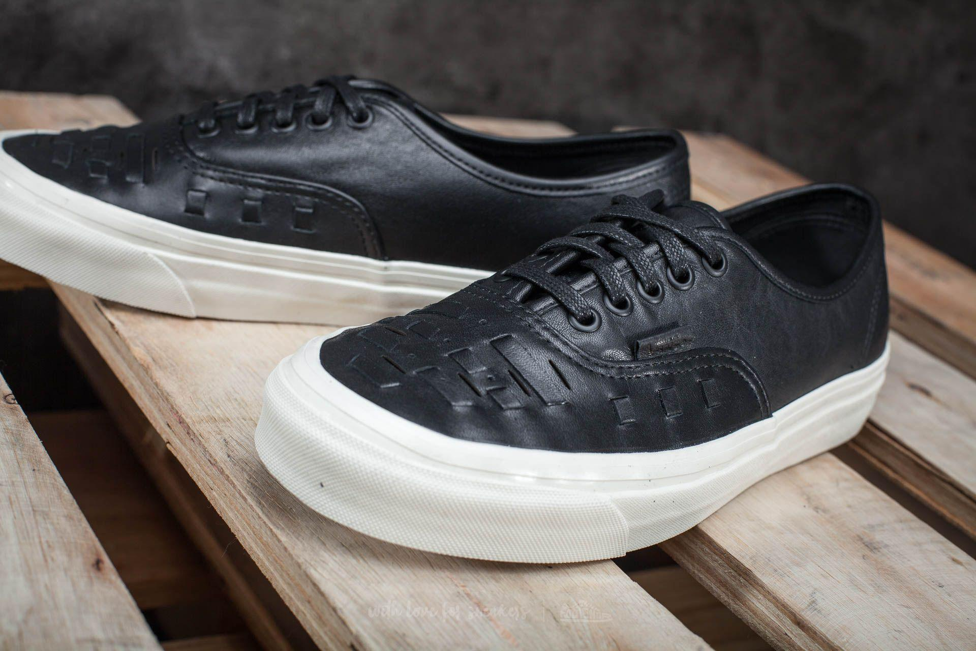 d6351ae6ae Lyst - Vans Authentic Weave Dx (leather) Black in Black for Men