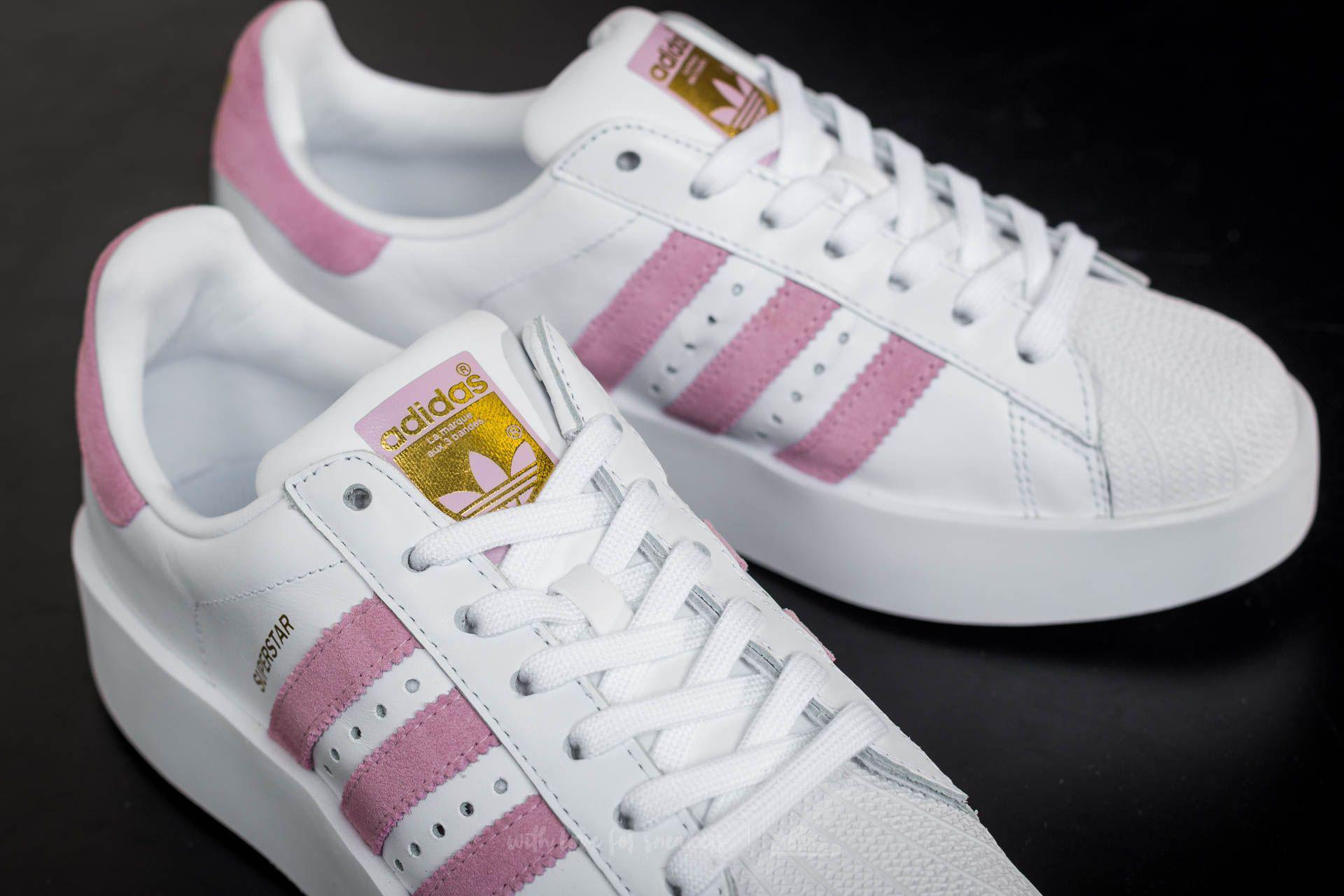 adidas superstar bold w rose