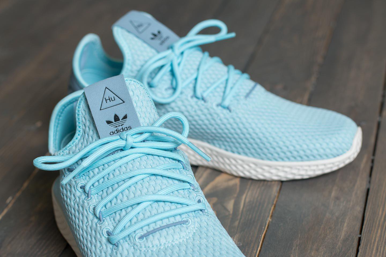 2b55b22356391 Lyst - adidas Originals Adidas Pharrell Williams Tennis Hu Ice Blue ...