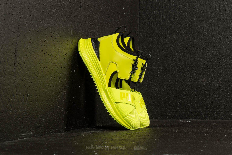 7dd796658a0297 Lyst - Footshop Puma Fenty X Rihanna Avid Wns Limepunch-black ...