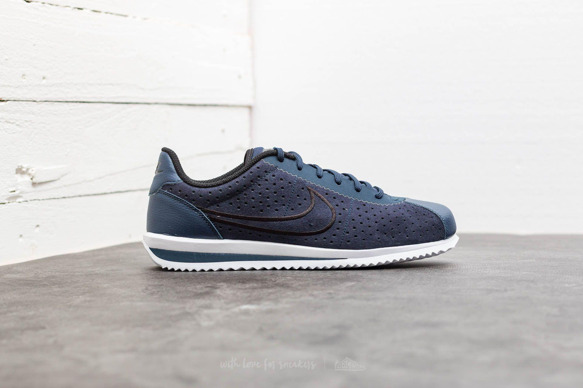 new arrivals 6fca2 a65fb Nike Cortez Ultra Moire 2 Obsidian  Black-white in Blue for Men - Lyst