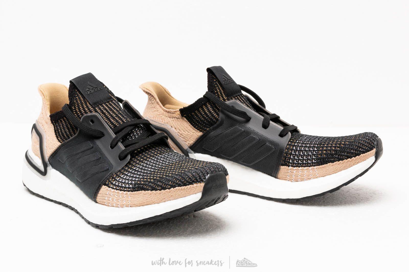 bb7acbaa9 ... Adidas Ultraboost 19 Core Black  Raw Sand  Grey Six for Men. View  fullscreen