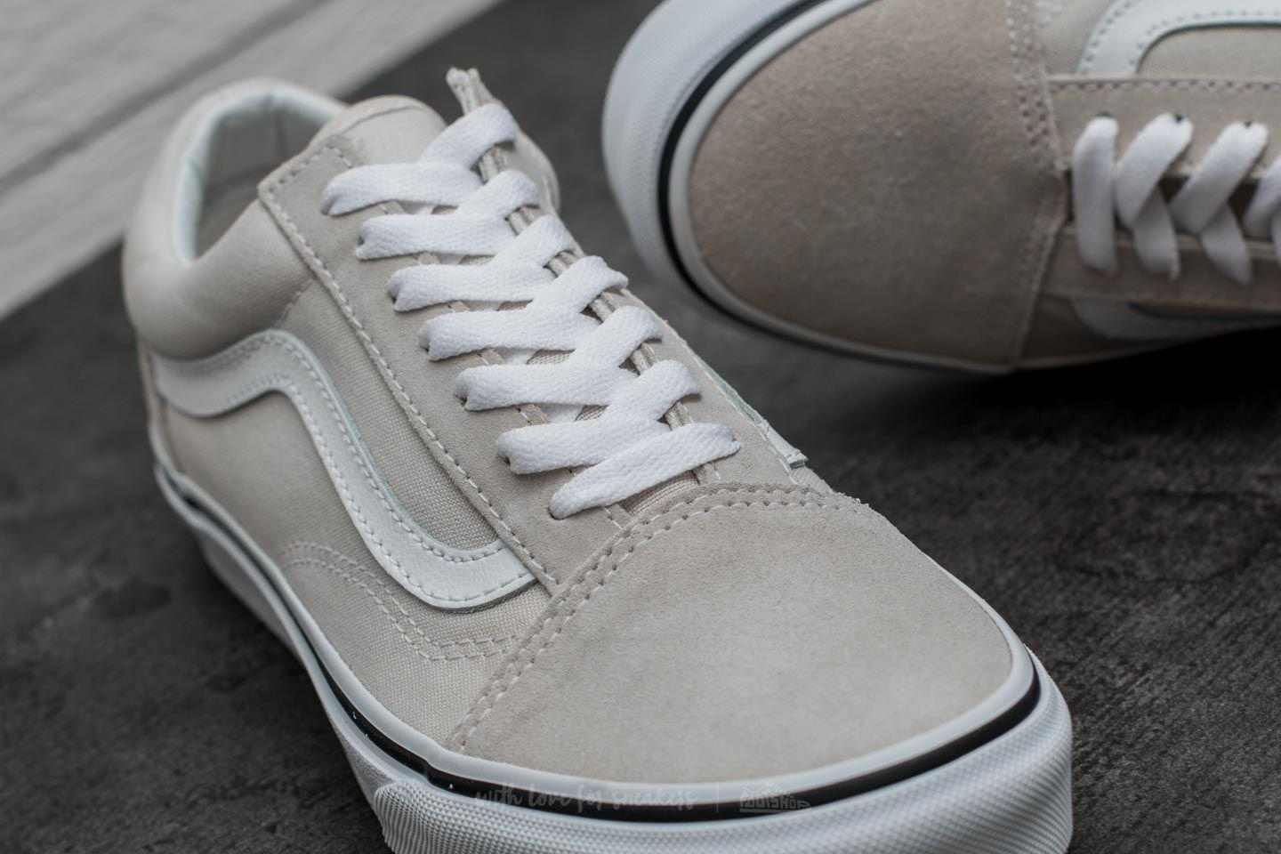 d4b700ad8d05a0 Lyst - Vans Old Skool Birch  True White