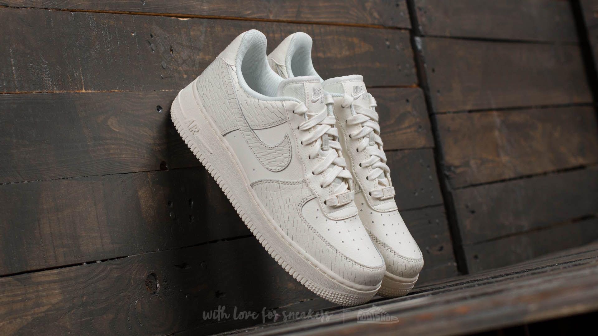 Lyst - Nike Wmns Air Force 1 ́07 Premium Sail  Sail-light Bone-white baf65cc614