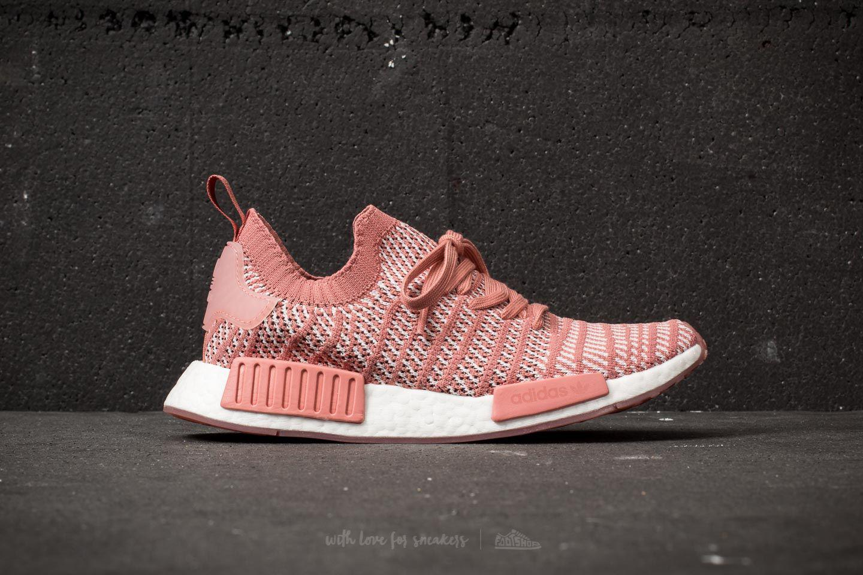 buy online 474df a875d adidas Originals Adidas Nmd r1 Stlt Primeknit W Ash Pink  Orchid ...