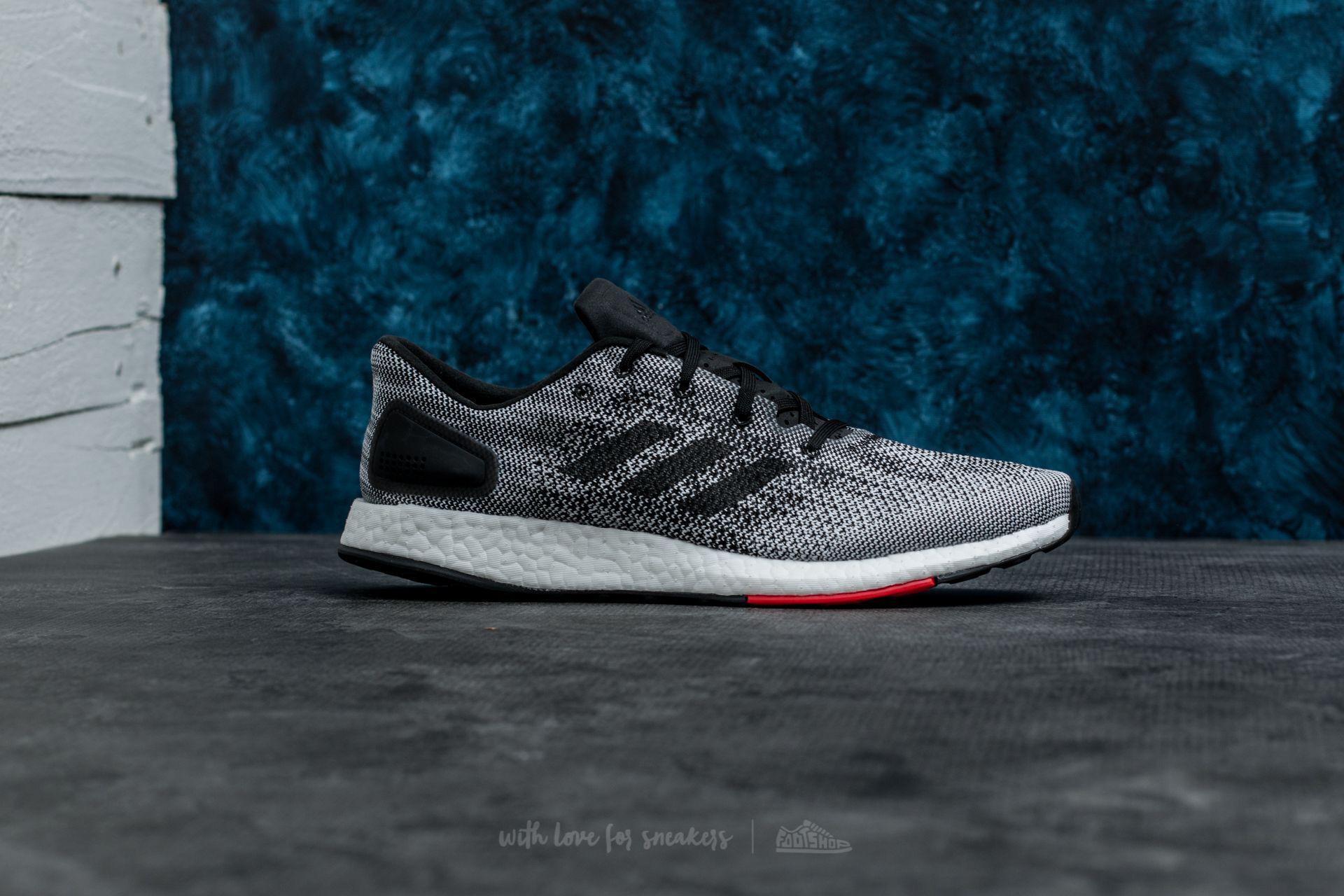 Lyst footshop adidas pureboost DPR Core Negro / FTW blanco en negro