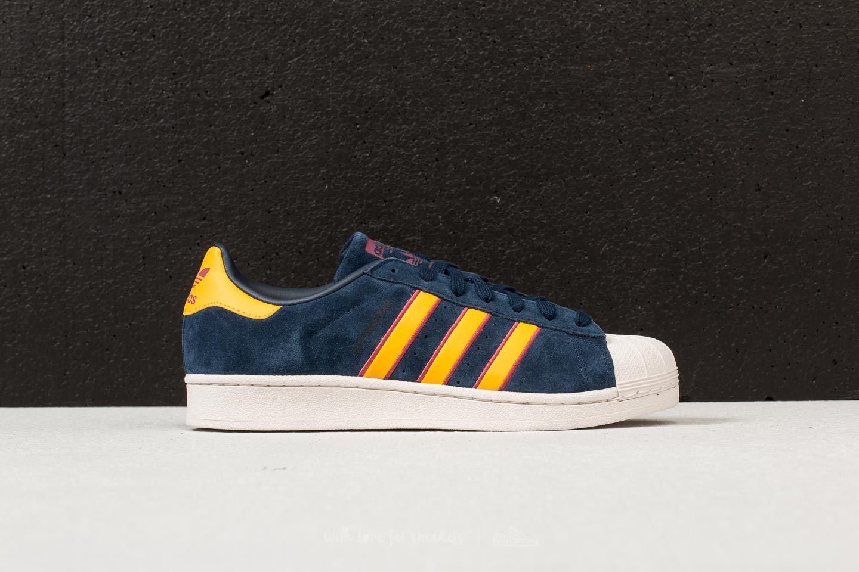sale retailer 52c31 93e02 adidas Originals Adidas Superstar Collegiate Navy  Yellow Adiprene ...