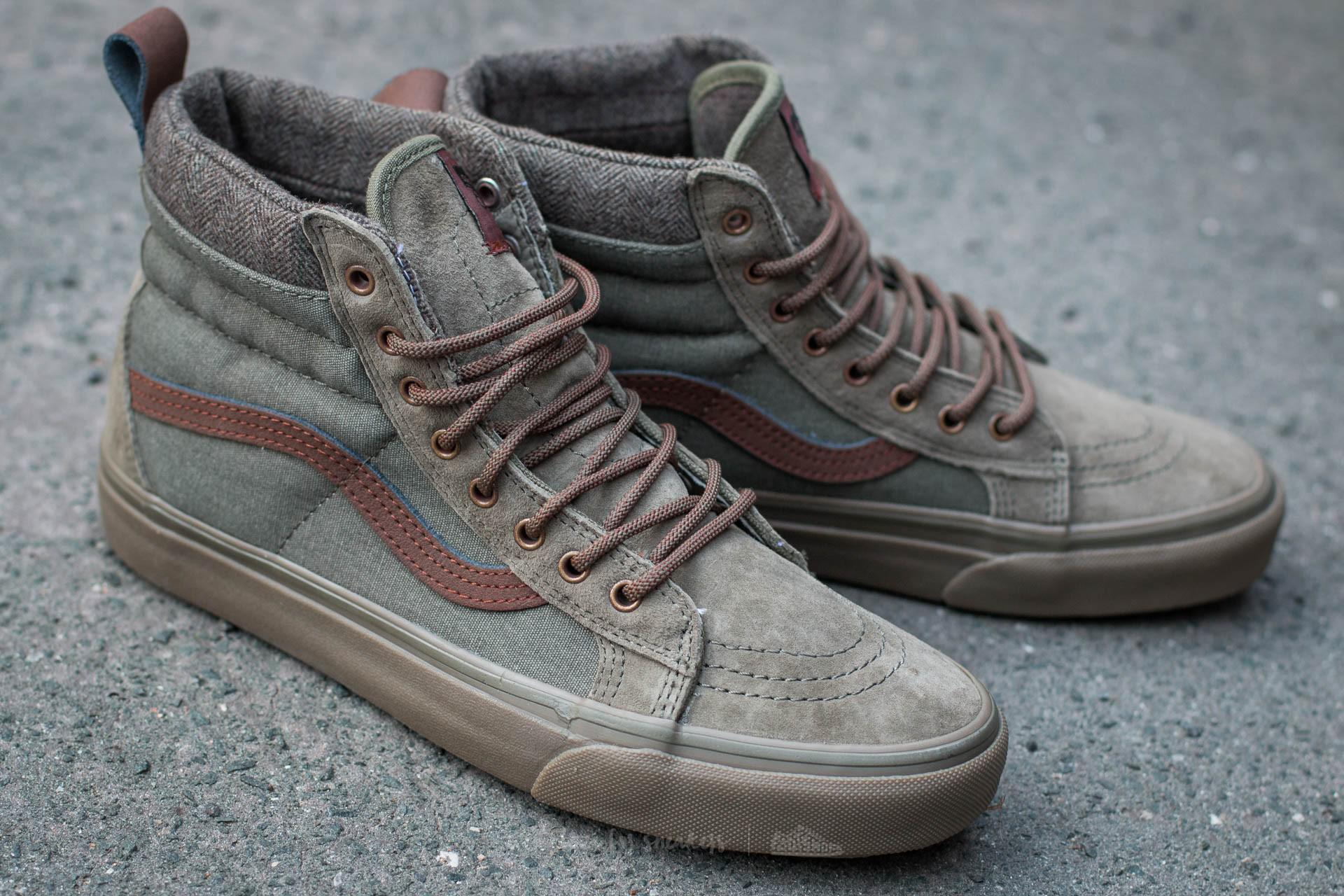 5b087d7178 Lyst - Vans Sk8-hi Mte Dx (mte) Ivy Green  Dark Gum for Men