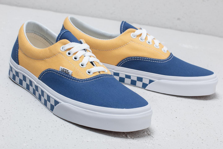 76698c1ed23f4a Lyst - Vans Era (bmx Checkerboard) True Blue  Yellow in Blue for Men