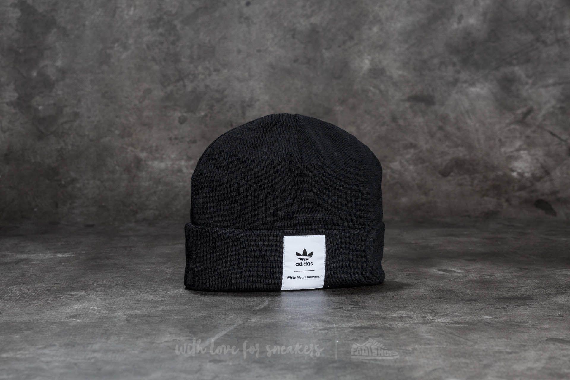 f06ba67f2195e Lyst - adidas Originals Adidas White Mountaineering Beanie Black in ...