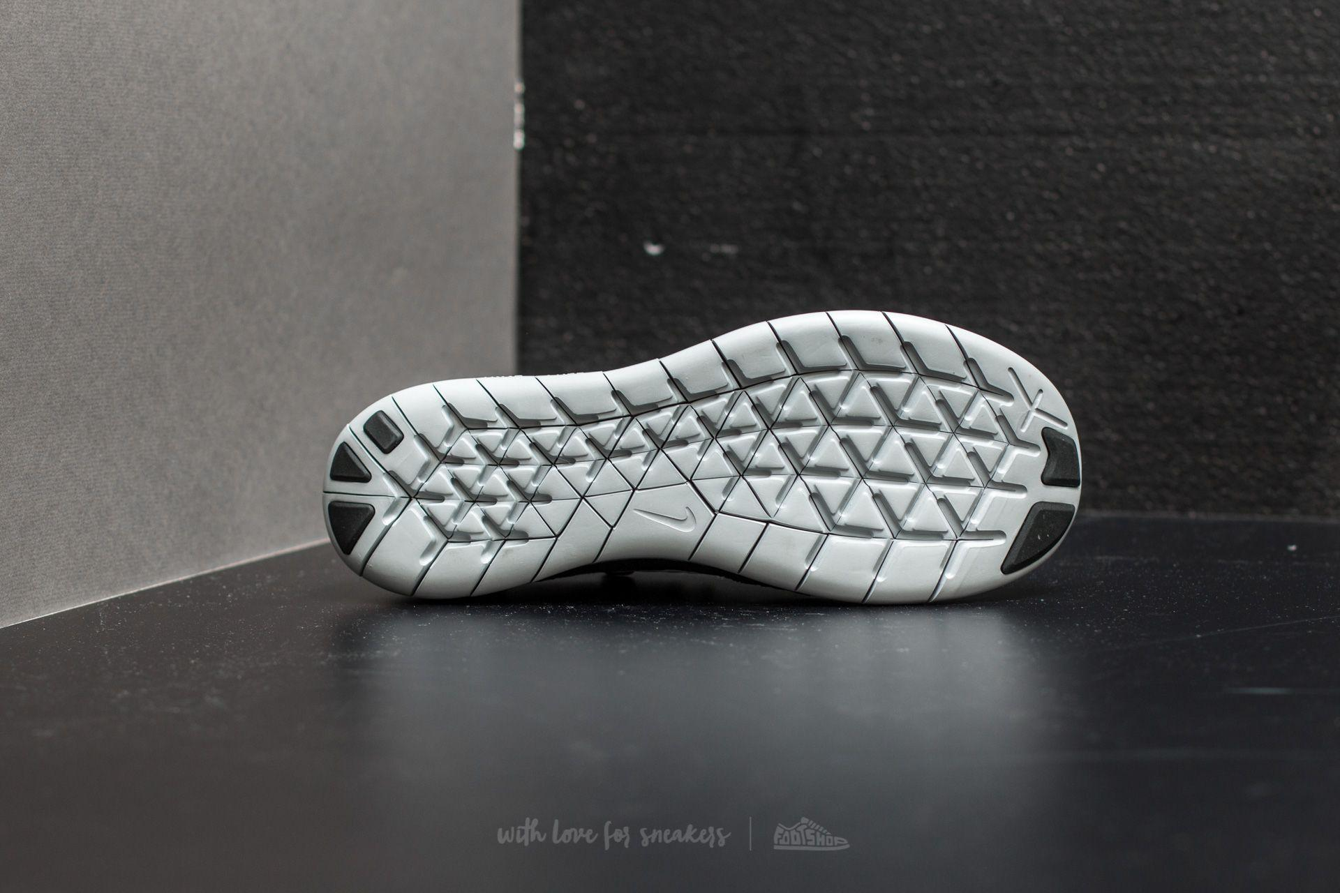 Nike - Free Run Flyknit 2017 Black/ Off White-anthracite for Men - Lyst.  View Fullscreen