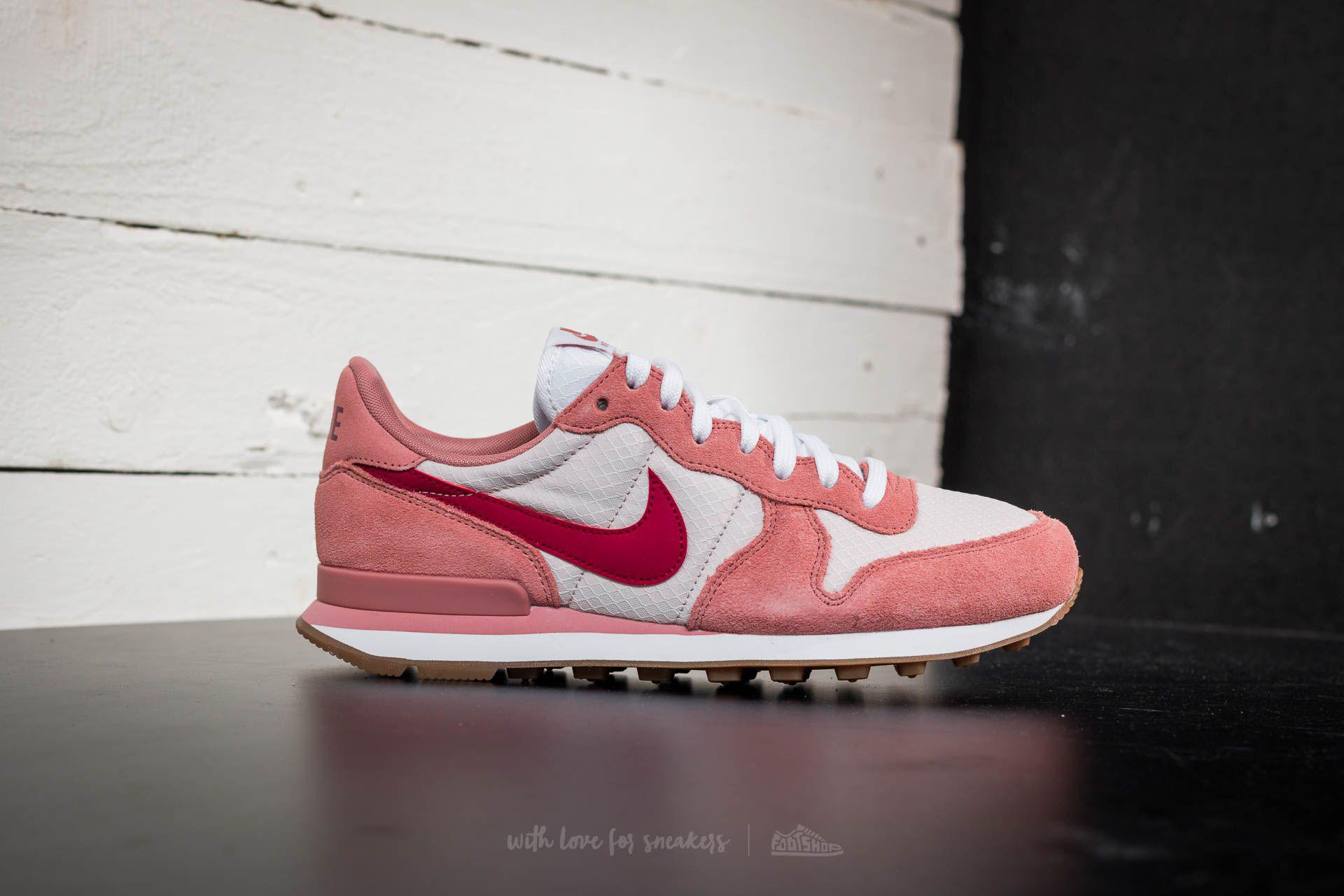 4948fe60b9e1 Lyst - Nike Wmns Internationalist Red Stardust  Noble Red in Red