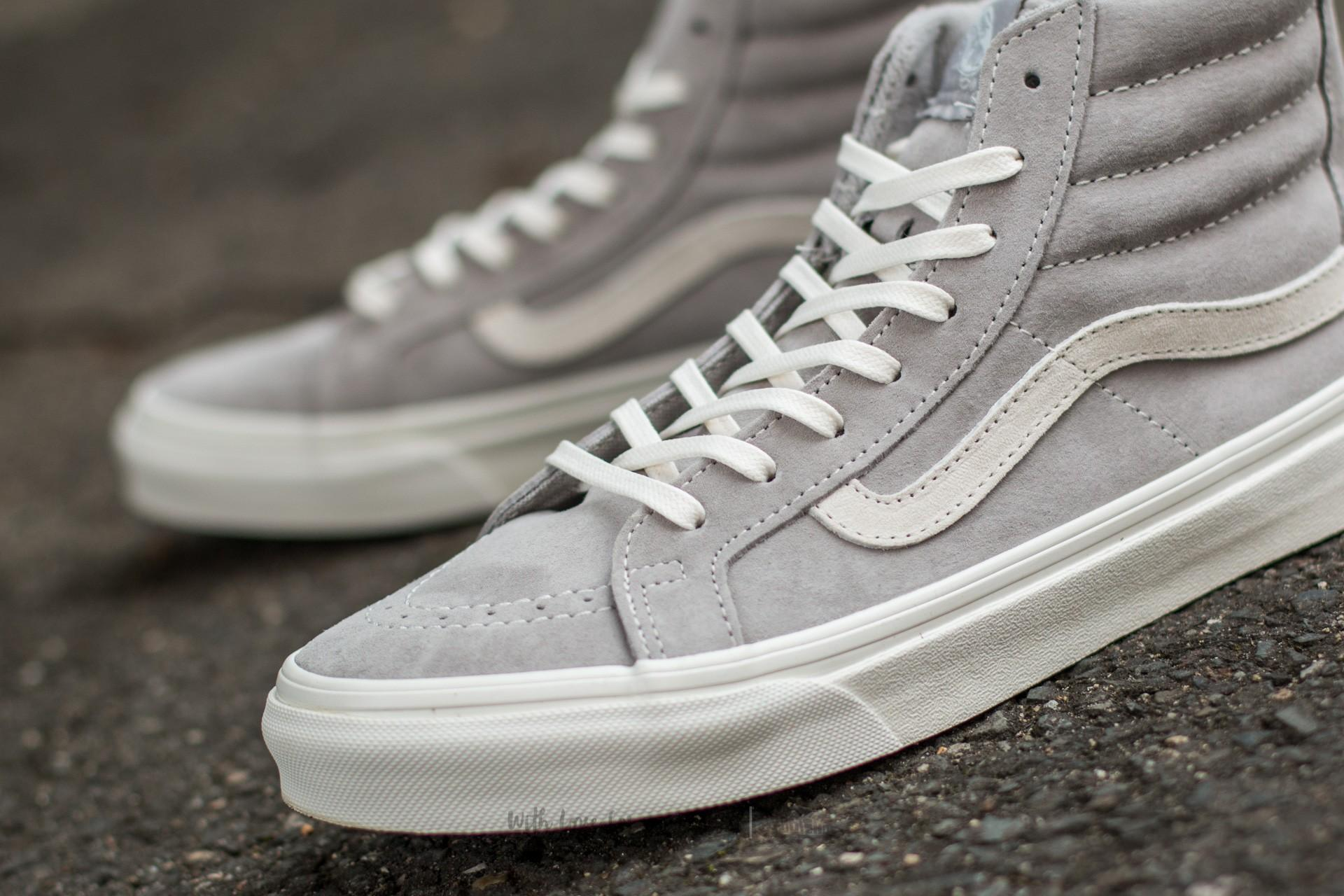 f9b31511ce Lyst - Vans Sk8-hi Slim Zip (scotchgard) Cool Grey  Blanc in Gray