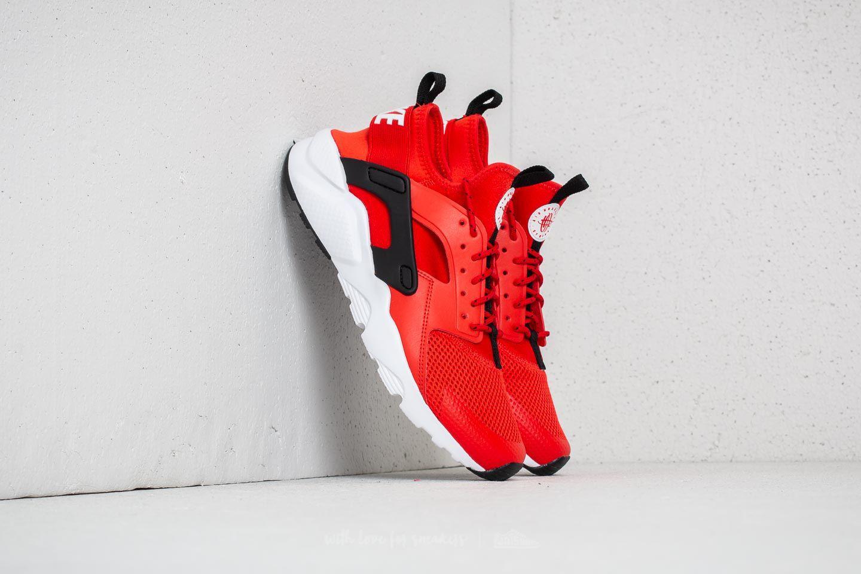 808772bb443f Lyst - Nike Air Huarache Run Ultra Gs Habanero Red  White-white ...