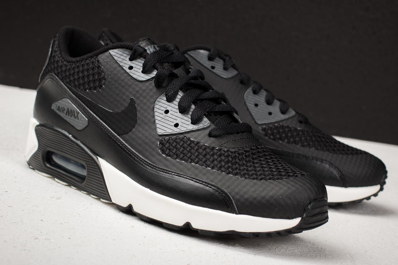 Nike Sportswear AIR MAX 90 ULTRA 2.0 - Trainers - black/dark grey/sail xa4BA7F