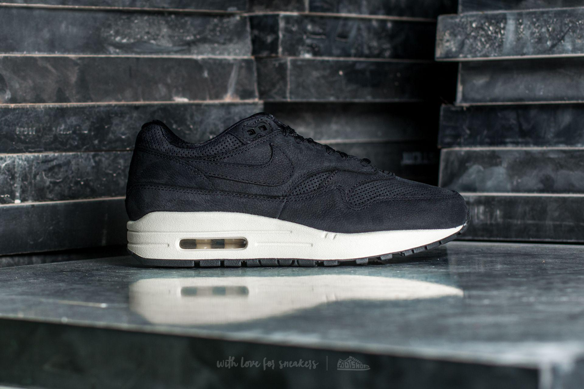 120445d226 ... norway lyst nike wmns air max 1 pinnacle black black sail in black  b205a 51132