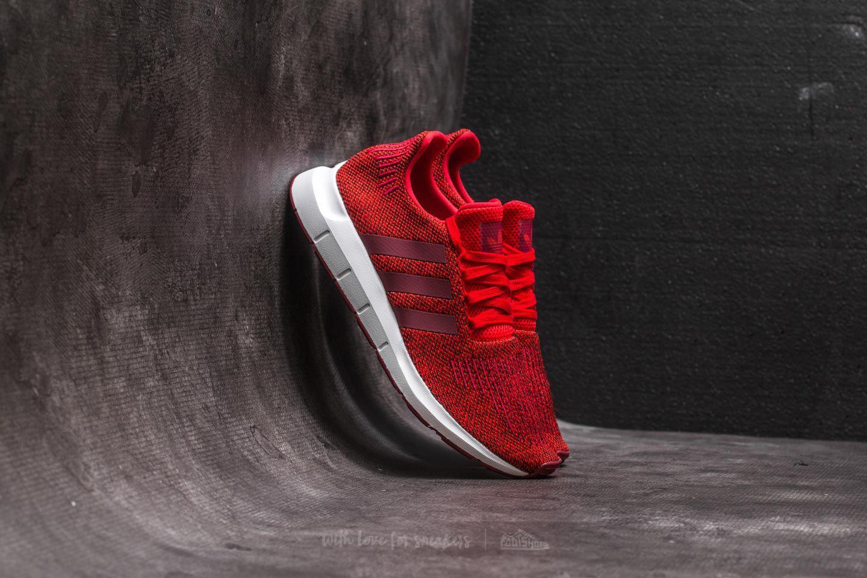 ed9bf087a Lyst - adidas Originals Adidas Swift Run Red  Collegiate Burgundy ...