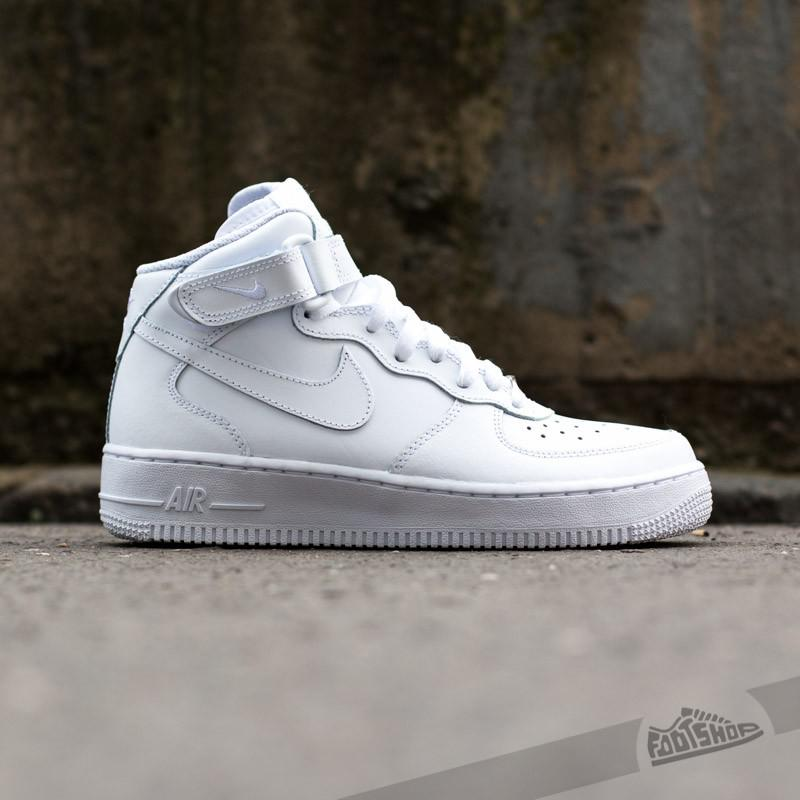 Lyst - Nike Wmns Air Force 1 Mid ́07 Le White white in White for Men d721bb2e46