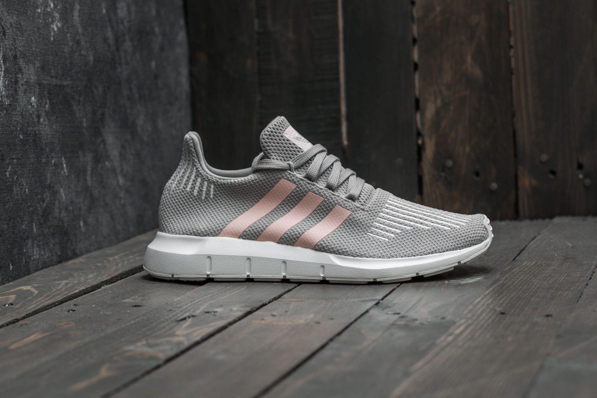 15209742699 Lyst - adidas Originals Adidas Swift Run W Grey Two  Icey Pink  Ftw ...