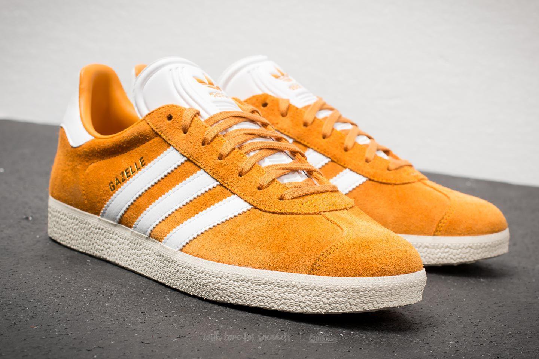 free shipping 87cf2 00154 Lyst - adidas Originals Adidas Gazelle Collegiate Gold  Ftw White ...