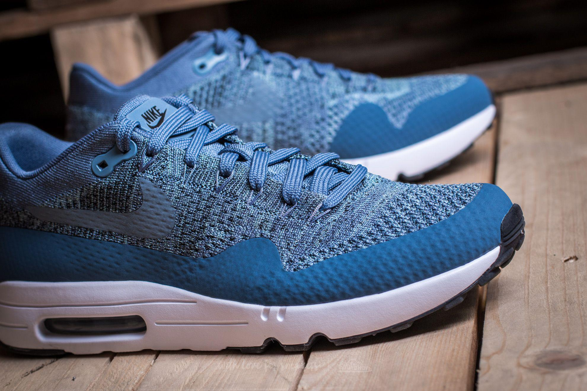 Nike Air Max 1 Ultra 2.0 Flyknit Ocean Fog Blue   SneakerFiles
