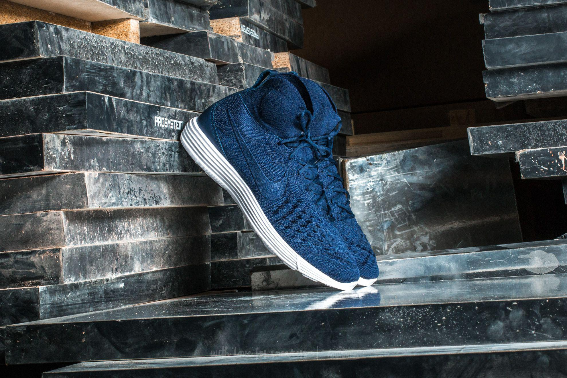 b73f4e3eb732 Nike Lunar Magista Ii Flyknit College Navy/ College Navy in Blue for ...